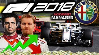 ROLLERCOASTER OF EMOTIONS THIS RACE - F1 2018 Alfa Romeo Manager Career Part 40