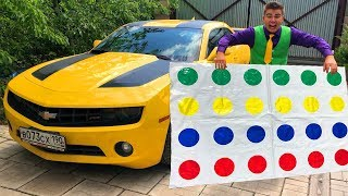 Mr. Joe on Chevy Camaro found Magic Multicolors Blanket & Turned Colored Toy Cars for Kids