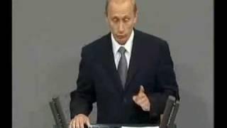 Putin spricht Deutsch / Putin speaks German 1/3
