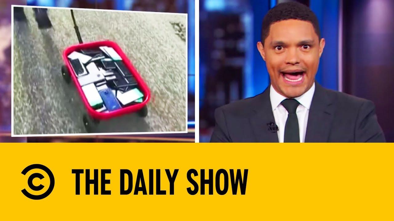 Artist Creates Fake Traffic Jam On Google Maps | The Daily Show With Trevor Noah