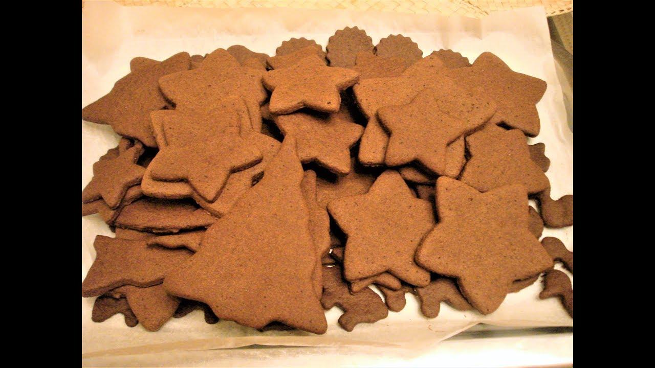 Самые вкусные Новогодние пряники. Рецепт теста печенья/часть 1/Christmas gingerbread