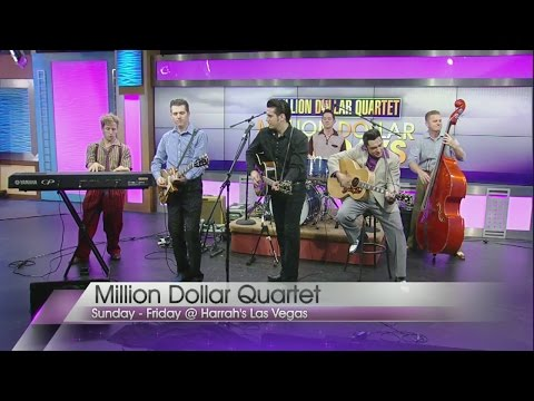 Million Dollar Quartet performs on Valley View Live!