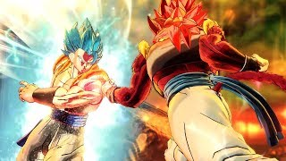 SSB Gogeta vs SSJ4 Gogeta! Which Gogeta is Stronger?! - Dragon Ball Xenoverse 2