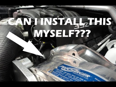 392 Scatpack - Should you install a supercharger yourself or have a shop do it?