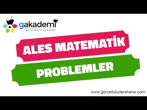 ALES Matematik Problemler Soru Çözümleri