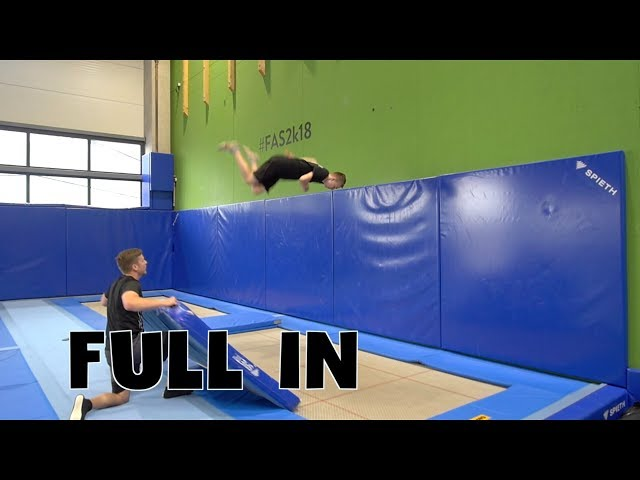 Trampolin Tutorial - FULL IN // Freestyle Academy Stuttgart
