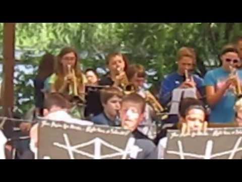 Scott Highlands Middle School sixth-grade jazz band peformance, May, 31, 2013