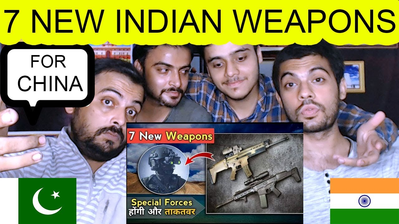 Pak Reaction on | Indian Special Forces New Major Weapon Upgrade - PARA Special Force Weapon Upgrade