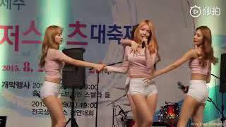 韩国美女紧身裤热舞,美女穿内裤跳舞제주 레저 스포츠 대축제…