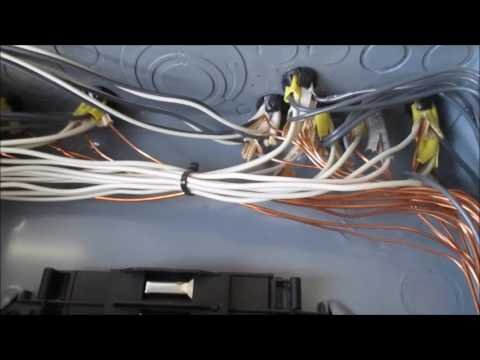 Electrical Service Entrance Panel Inspection by HK Inspections in Longview, Texas