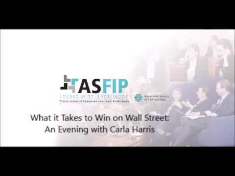What it Takes to Win on Wall Street: An Evening with Carla Harris