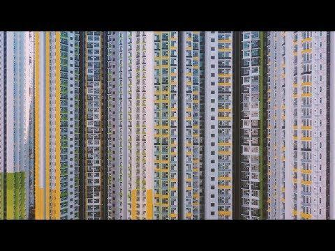 Aerial Shots Of Hong Kongs Concrete Jungle