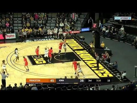 highlights:-princeton-at-iowa-|-b1g-women's-basketball-|-nov.-20,-2019