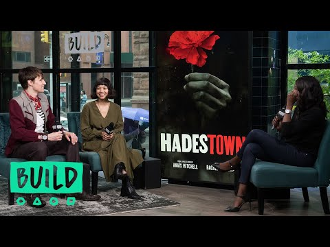 "Reeve Carney & Eva Noblezada Talk About The Musical, ""Hadestown"""