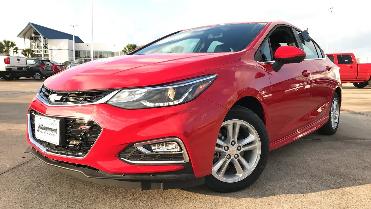 New Chevy Cruze >> 2018 Chevrolet Cruze LT RS (1.4L Turbo) - Review - YouTube