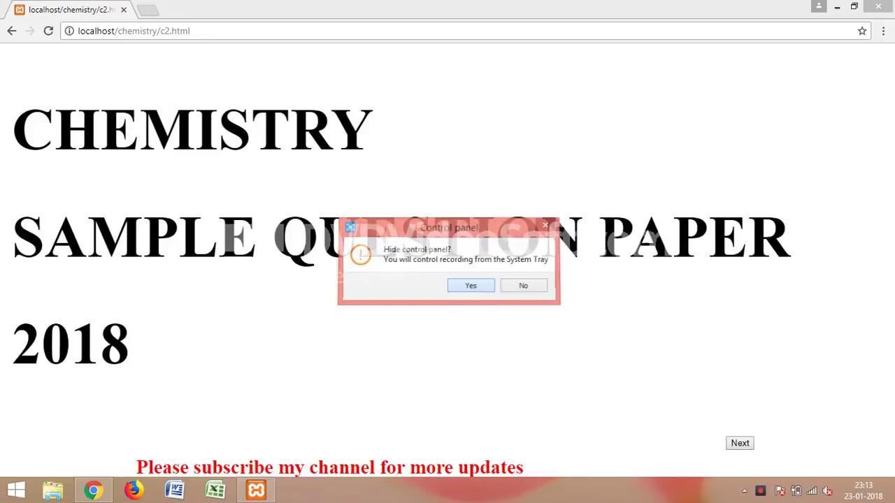 Cbse chemistry sample question paper class 12 2018 set 2 youtube cbse chemistry sample question paper class 12 2018 set 2 malvernweather Choice Image