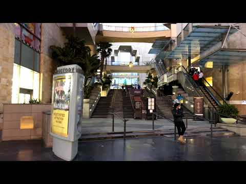 Hollywood Walk of Fame, The Dolby Theatre and Hollywood Blvd, During Pandemic Lockdown L.A. CA. USA.