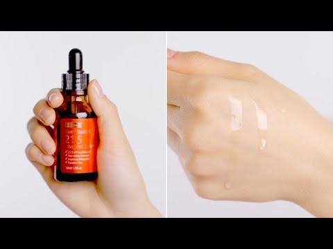 Best Vitamin C Serum To Lighten Acne Marks Fast   By Wishtrend Pure Vitamin C 21.5% Advanced Serum
