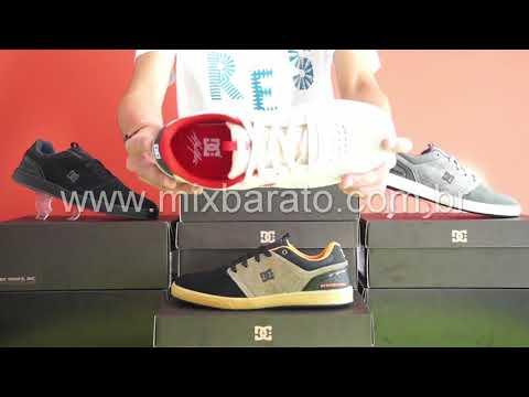 0a14df3124 Tênis DC Shoes Cole Signature Couro Cinza apenas R$190,90 (Importado) - Tênis  DC Shoes 100611 - Mix Barato