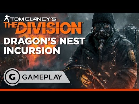 Beating Dragon's Nest Incursion – The Division: Underground DLC Gameplay