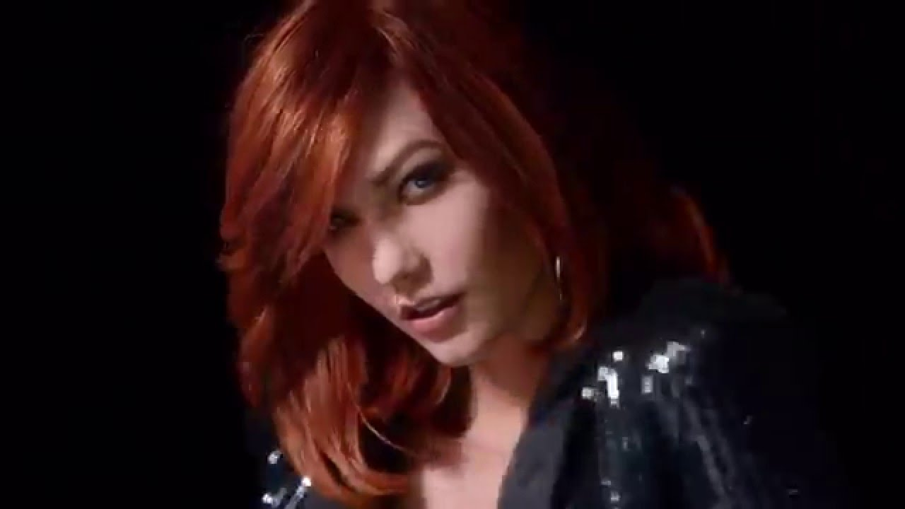 Red And Violet Hair Color Fria Power Loreal Commercial Youtube