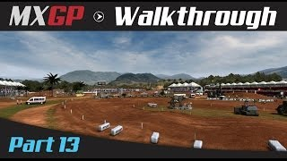 MXGP: The Official Motocross Game Walkthrough - Part 13 MX2 German Grand Prix