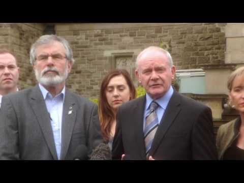 Deputy First Minister, Martin McGuinness on Brexit