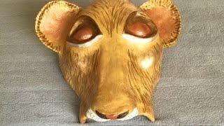 How to Make a Nala Cub Mask