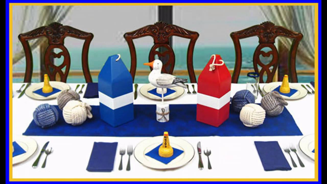 Exotic Nautical Party Decorations