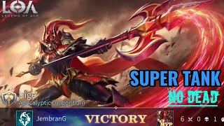 Hero IRIGE Gamplay & Build Super Tank and Fighter - Legend Of Ace ( LOA )