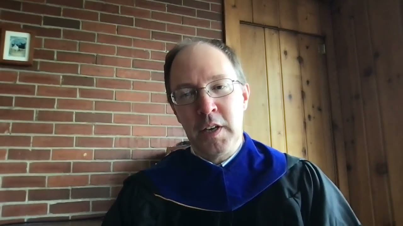 Preview image for Commencement Message from Dean Will Cantrell video