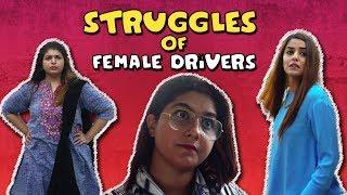 Struggles of Female Drivers | MangoBaaz