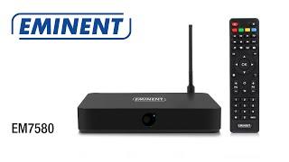 EM7580 TV Streamer powered by OpenELEC Kodi