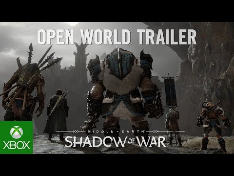 Official Middle-earth™: Shadow of War™ Open World Trailer