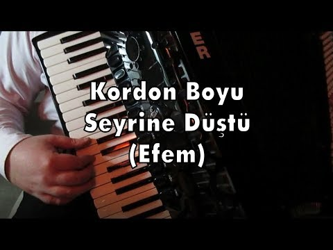 Kordon Boyu Seyrine Düştü (Efem) - 200. Video Özel !!! Murathan Akordeon