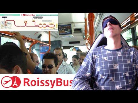 Roissy bus, el autobus del aeropuerto Charles de Gaulle a la Opera de Paris  (MibauldeblogsTV)