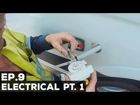 Ep.9 Sprinter Van Conversion | Electrical Pt. 1