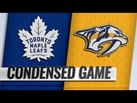 03/19/19 Condensed Game: Maple Leafs @ Predators