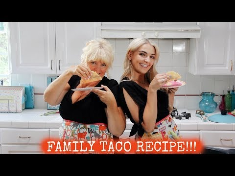 Family FAVORITE Taco Recipe!!   Rydel Lynch