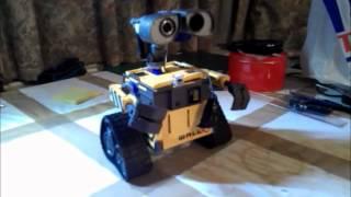 Wall-E Robot Test 4 Speech Recognition, understand voice command, using arduino