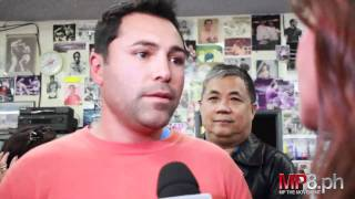 Manny Pacquiao - Oscar De La Hoya Visits the Wildcard and Manny Pacquiao