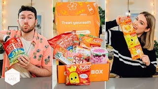 British People Trying Japanese Candy Pt 3: Tokyo Treat - In The Kitchen With Kate