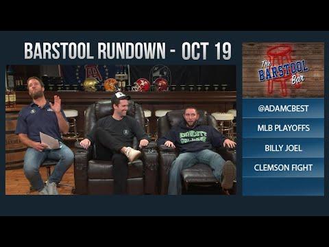 10-19-17 Barstool Rundown