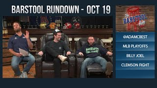 10-19-17 Barstool Rundown