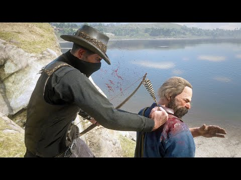 Red Dead Redemption 2 - Extreme Stealth Gameplay Vol. 5 (PC 60FPS) |