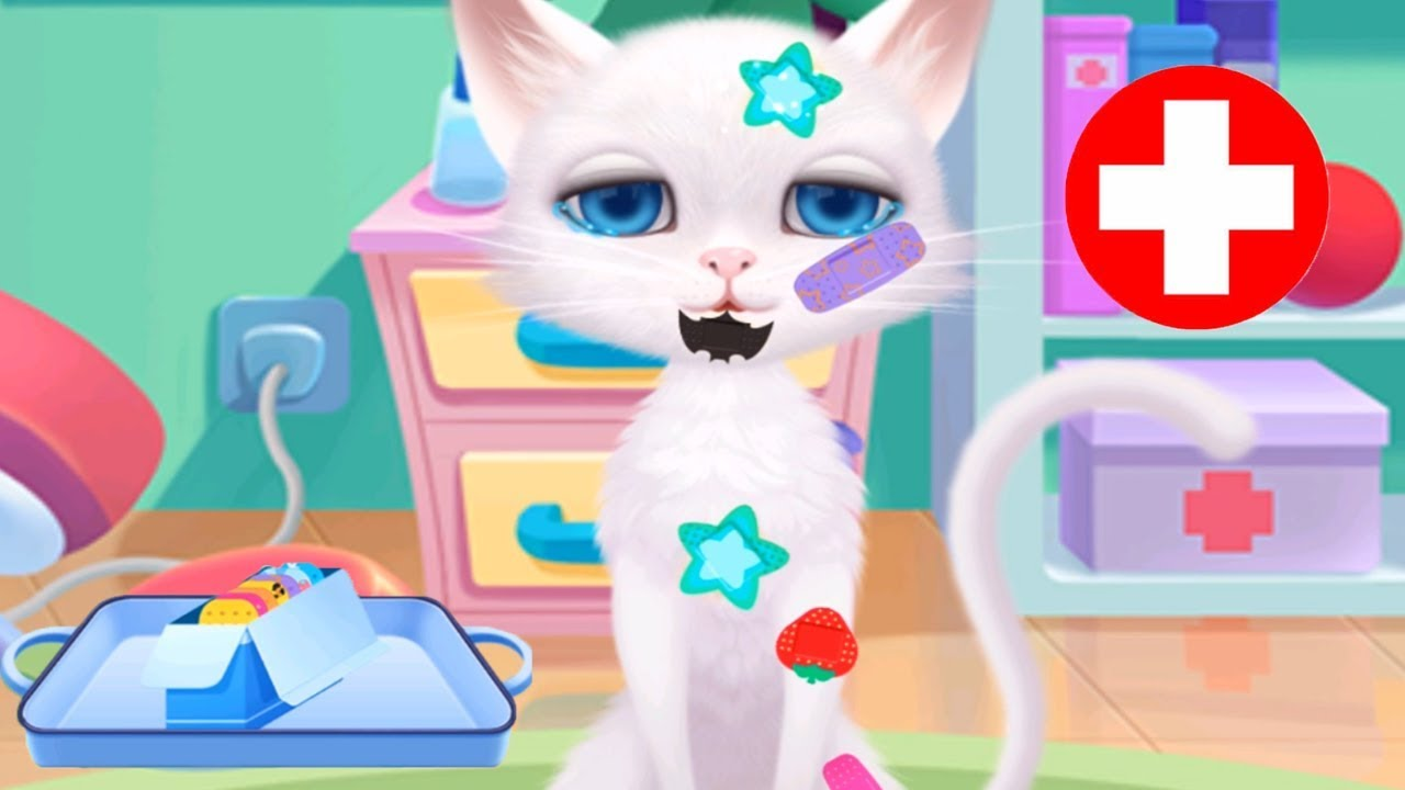 Furry Pet Animal Hospital - Cute Animals Treat And Care - Fun Pet Animal Care Games For Children