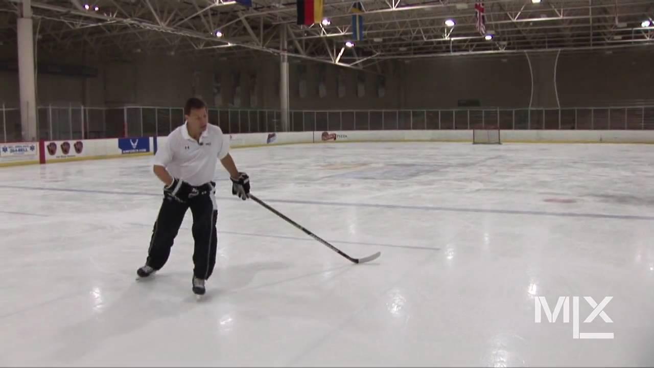 mlx ice hockey skating lesson power turns youtube