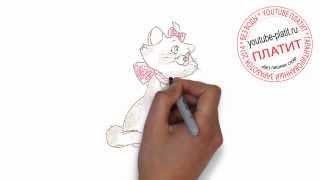 Как нарисовать кошку  Как поэтапно карандашом нарисовать кошку ребенку за 22 секунды(О том как нарисовать кошку написано уже много. Но при этом всегда найдется человек, который с трудом предста..., 2014-07-21T04:53:18.000Z)