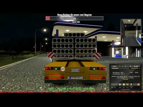 ETS2 ★ Original Map ★ Von Hamburg nach ??