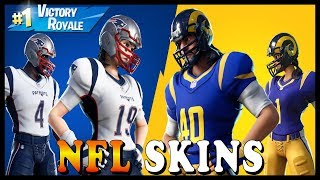 "NEW ""AIR HORN"" EMOTE in FORTNITE - NFL SKINS ARE BACK!!! // Playing With SUBSCRIBERS"